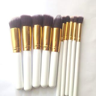 Born Pretty Store 10-piece Brush Set