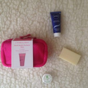 BeautyBox July/August    UNBOXING travel size products