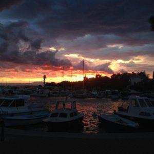 crikvenica sunset 2
