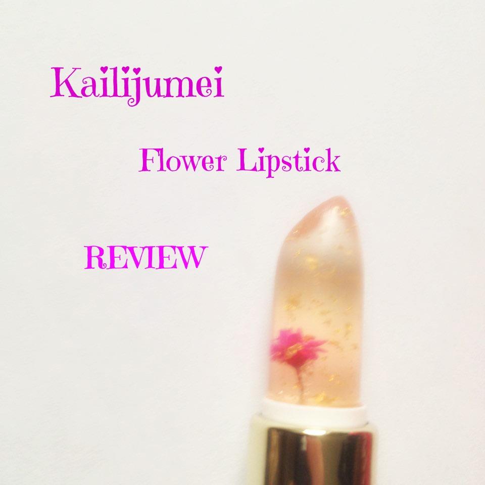 Kailijumei Flower Lipstick Review