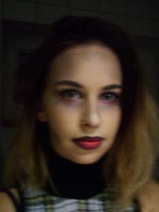 Halloween Nails and Makeup