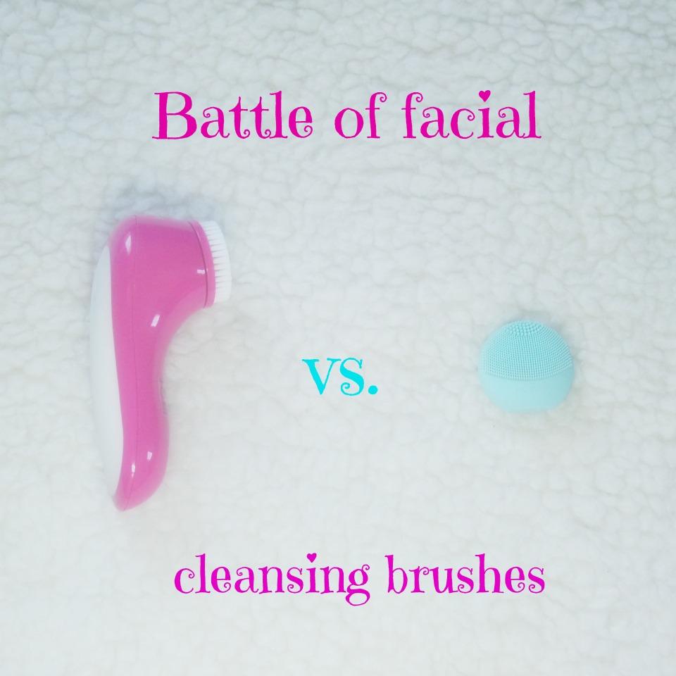Bitka uređaja za čišćenje lica